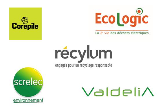 Corepile, Ecologic, Récylum, Screlec et Valdelia s'associent et lancent TriOBuro