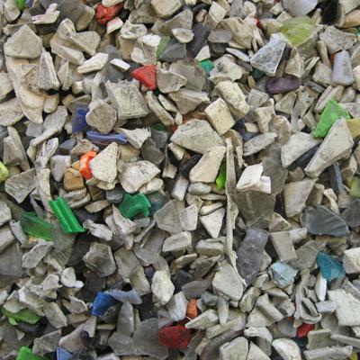 Fractions de plastiques