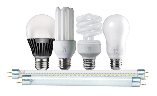 Les lampes à économie d'énergie se recyclent